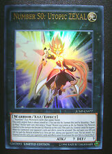 YUGIOH JUMP-EN077 NUMBER S0: UTOPIC ZEXAL SHONEN JUMP ULTRA RARE * NEW & MINT *