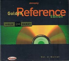 Stereoplay Golden Reference Edition Vol. 2 Guitar 24 Carat Zounds Gold CD NEW Se