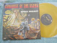 """CONQUEST OF THE STARS SPACE PROJECT LP VINYL RECORD 12"""" NO 16143 GOLD VINYL"""