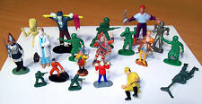 Vintage Lot of Small Plastic People - Soldiers, Etc. - Most Made in Hong Kong