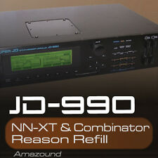 ROLAND JD990 REASON REFILL 240 PATCHES NNXT & COMBINATOR + 3 DRUM KITS 24bit