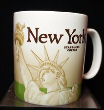Starbucks New York City GLOBAL ICON Coffee 2009 Collectors Series Mug Cup EUC