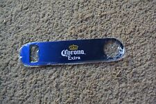 NEW Corona Extra Blue Logo Steel Bartender Bar Style Beer Bottle Opener