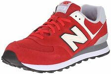 New Mens New Balance 574 Classic Casual Shoes sz 12 Varsity Pack Red ML574VAA