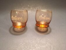 DI AMORE 2011 Shot Glass Lot 2  Drinking Party Game Gag Glasses Gift