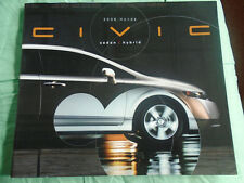 Honda Civic Sedan & Hybrid range brochure 2006 USA market