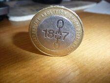 Rare £2 coin - 1807 - Abolition of the slave trade- good conditon