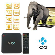 4K Android 5.1 TV BOX MQX S905 Quad Core 1GB/8GB Wifi Streaming Media Player