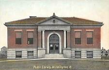 A57/ Wilmington Ohio Postcard 1906 Public Library Building