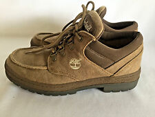 Hiking Trail Ankle Boots TIMBERLAND Khaki Canvas Mens Shoes Size 7.5 Medium