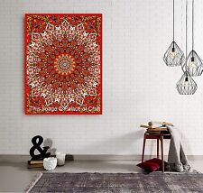 Star Mandala Wall Hanging Indian Poster Tapestry Bohemian Dorm Decor Table Cloth