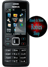 Nokia 6300 Black (Ohne Simlock) 3BAND 2,0MP Radio Original Nokia Neuwertig TOP