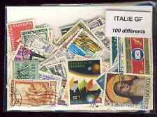 Italie grands formats - Italy large 100 timbres différents