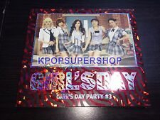 Girl's Day Party #3 Digital Single Promo CD Great Cond. RARE Twinkle Twinkle