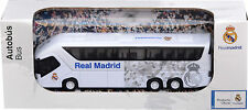 REAL MADRID CF Licensed BUS Scale Model Pull Back Action Opening Doors Soccer