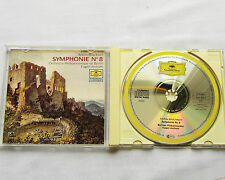 JOCHUM / BRUCKNER Symphony No.8 FRENCH CD DGG 431 163-2 full silver, no IFPI