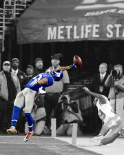 New York Giants ODELL BECKHAM JR Glossy 8x10 Photo Spotlight Football Poster