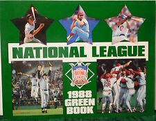 NATIONAL LEAGUE 1988 GREEN BOOK - National League of Professional Baseball Clubs