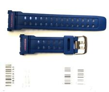 CASIO WATCH BAND: 10318151  BAND FOR G-9000 Blue Resin Band