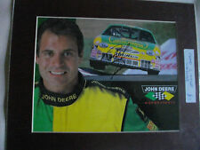 CHAD LITTLE  AUTOGRAPHED MOUNTED PHOTO NASCAR MOTOR SPORT