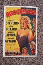 Roughshod Lobby Card Movie Poster Robert Sterling John Ireland