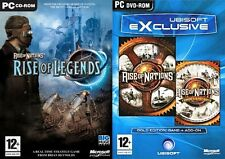 rise of nations rise of legends & rise of nations gold