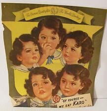 1934-1964 DIONNE QUINTUPLETS ALBUM 154 Pages CALENDAR, NEWSPAPER ARTICLES