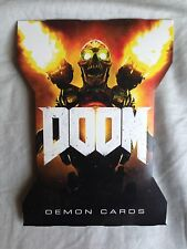 Doom Gamestop Collector's Demon Foil Card Set NEW Xbox One PC PS4 Bethesda ID