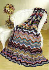Big book of scrap crochet afghans patterns