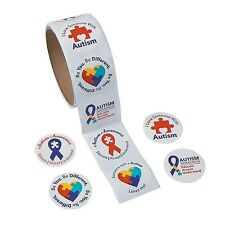 200 Autism Awareness Stickers I Love Someone With Autism Variety Pack