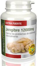 Extracto de Jengibre 12000mg Nauseas Digestión y Articulaciones 240 Comprimidos