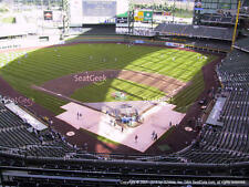 1-4 Colorado Rockies @ Milwaukee Brewers 4/4/17 Tickets 2017 Sec 422 Rw 8 Miller