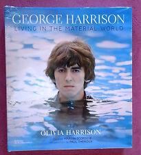 GEORGE HARRISON - LIVING IN THE MATERIAL WORLD - OLIVIA HARRISON - LIVRE NEUF