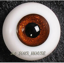 Glass Eye 14mm Shine Orange Brown YOSD Lati Yellow DOD LUTS