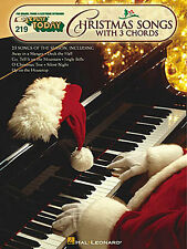 E-Z Play Christmas Songs With 3 Chords Learn to Play EASY Piano Music Book