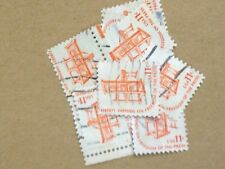 100 USED STAMPS #1593 11C FREEDOM OF PRESS