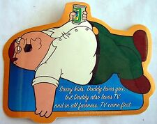 Family Guy Daddy loves TV sticker  Licensed