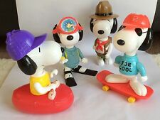4 x MCDONALDS LARGE TOY's – SNOOPY