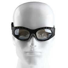 Sports Snowmobile Cycling Skiing Goggles Ani-Fog Eyewear Sunglasses Silver Lens