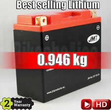 Best selling Lithium-ion motorcycle battery JMT YT12B-BS 75% lighter