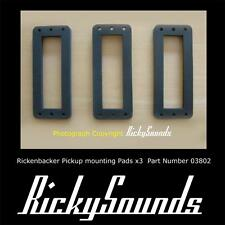 3 x Mounting Pads for Rickenbacker Pickups, For High Gain, HB1 and Toaster