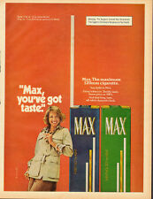 1976 Vintage ad for Max Filter 120 by KENT/Cigarettes.Pretty Model (060213)