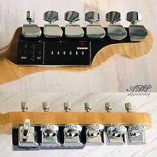 ACCORDAGE AUTO TRONICAL TUNE C Plus Fender GAUCHER Tele Strat LEFTY ROBOT TUNERS
