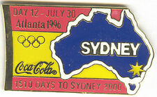 1996 ATLANTA OLYMPIC COCA COLA DAY PIN 12 FOR BOTTLE PUZZLE SET SYDNEY ##