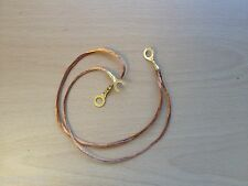 LAMBRETTA  COIL TO FRAME COPPER EARTH WIRE - BRAID - SERIES 1 2 & 3 GP-LI-SX-TV