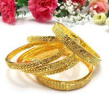 Indian Asian Size:2.8 Bridal Pakistani Jewellery 22ct Gold Plated Bangles