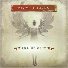 End of Grey by Decyfer Down (CD, 2005, SRE) SEALED NEW Tony Palacios Jim Cooper