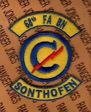 US Army 68th Constabulary Field Artillery Bn SONTHOFEN GERMANY patch set lot