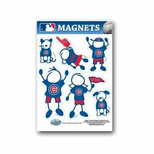 Chicago Cubs Family Magnet Set (NEW) Auto Car Stickers Emblems 6 Pack MLB