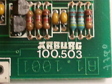 ARBURG MULTRONICA Injection Moulder CONTROL CARD  C100.503, IDENT-NR 2.5241 B,